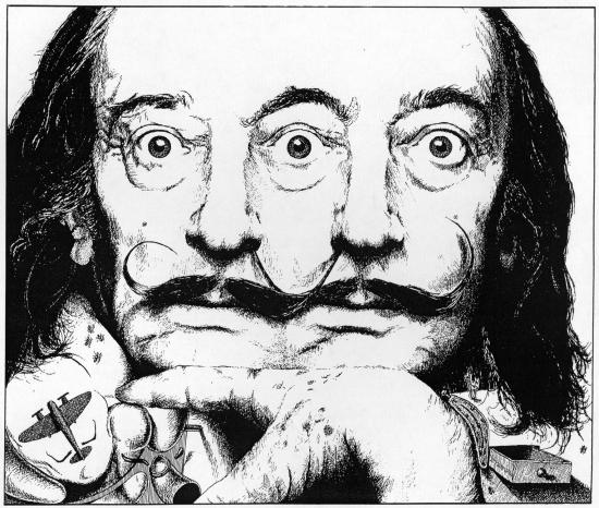 Salvador Dali par Pastis